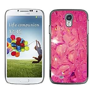 """For SAMSUNG Galaxy S4 IV / i9500 / i9505 / SGH-i337 Case , Pink Glitter Místico Modelo abstracto"""" - Diseño Patrón Teléfono Caso Cubierta Case Bumper Duro Protección Case Cover Funda"""