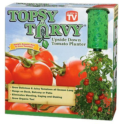 Topsy Turvy Upside Down Tomato Planter - As Seen On TV (Pack of 2)
