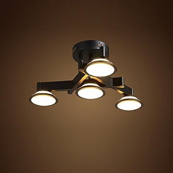 AIKE LED Deckenleuchte Industrielampe Vintage Design