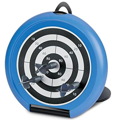 Launch Innovative Products Jacob Mini Desktop Magnetic Dart Board Game - 5 Inch