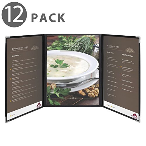 Custom Menu Cover - Flexzion Menu Covers Fits 9.4