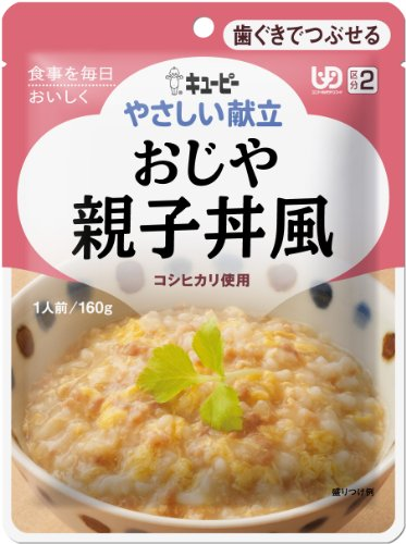 QP-friendly menu Category 2 rice gruel oyakodon style 160g ~ 6 pieces by QP