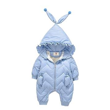 FENPING-Baby jumpsuit Mono De Bebe Pijamas De Bebe-Mujer Bebé Bebé Onesies Saco De Dormir Batas Mameluco Recién Nacido Salida Ropa 1 Año De Edad: Amazon.es: ...