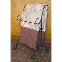 J&J Wire Quilt Holder, Dark Pewter