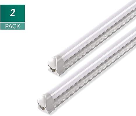 Neutral 25-PK Fluorescent Linear Lamp 3500K T8