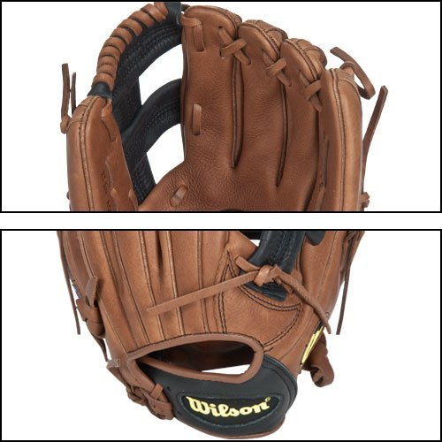 Wilson A800 1786 Game Ready Soft Fit Infielder's Throw Baseball Glove (Right Hand, 11.75-Inch)