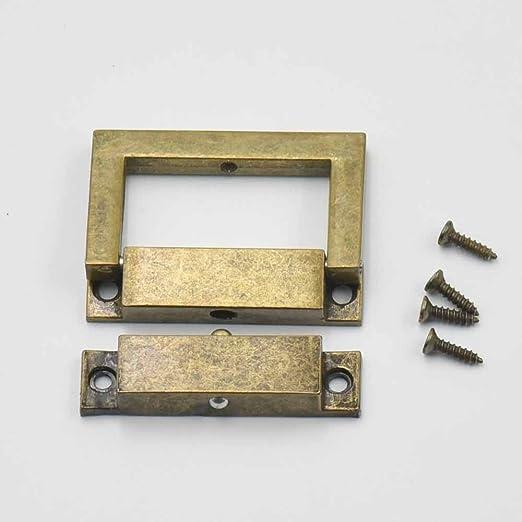 8 Sets 24 mmx38 mm cierre Catch para drawbolt cierre caja de herramientas maleta bolsa caso bolso de mano níquel oro bronce: Amazon.es: Hogar