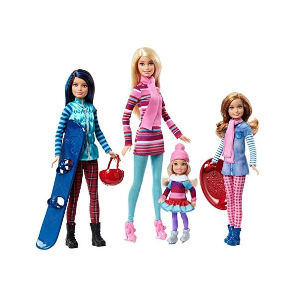 5142V5oLm8L. SS600  - Barbie Sisters Winter Getaway Fashion Dolls