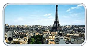 Hipster iPhone 4 case amazing paris eiffel building pc White for Apple iPhone 4/4S