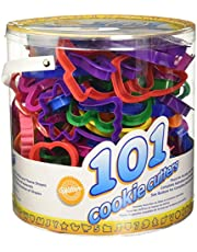 Cookie Cutters Set, 101-Piece — Alphabet, Numbers and Holiday Cookie Cutters