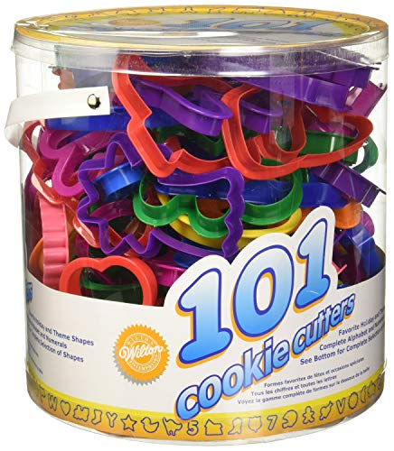 Wilton Cookie Cutters Set, 101-Pieces