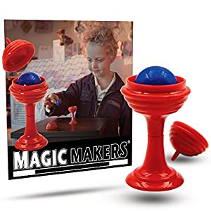 Magic Makers Color Changing Hanky, Stop Light Cards and Ball and Vase Tricks