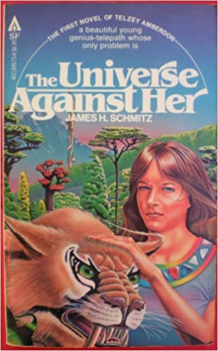 James H. Schmitz - The Universe Against Her (Telzey Amberdon 1)