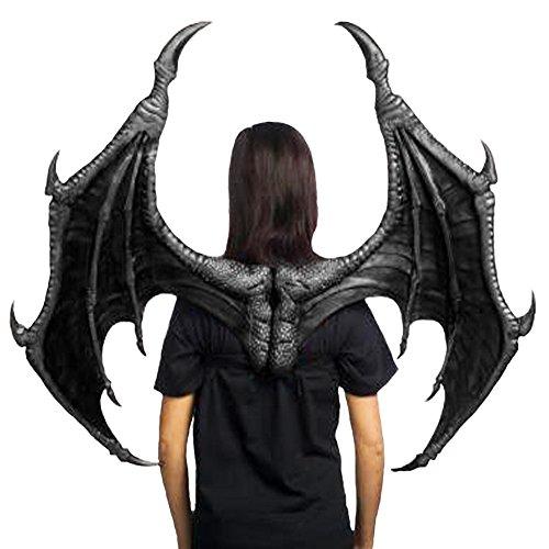 Black Dragon Bat Wings Adult Costume Accessory 43