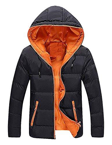 [해외]CELINO Men 's Padded Hooded Jacket 경량 퀼트 전체 지퍼 방풍 파카/CELINO Men`s Padded Hooded Jacket Lightweight Quilted Full Zip Windproof Parka