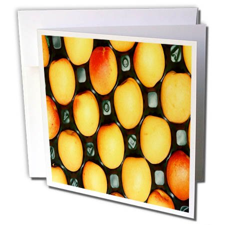 3dRose TDSwhite – Farm and Food - Food Tasty Apricots Healthy - 12 Greeting Cards with Envelopes (gc_285174_2) by 3dRose