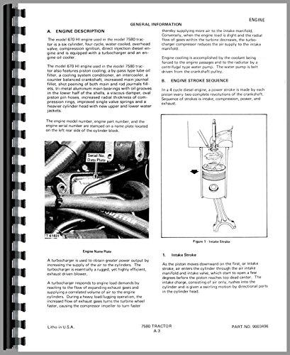 Allis Chalmers 7580 Tractor Service Manual pdf epub