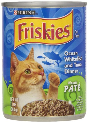 Friskies Ocean Whitefish & Tuna Buffet Canned Cat Food