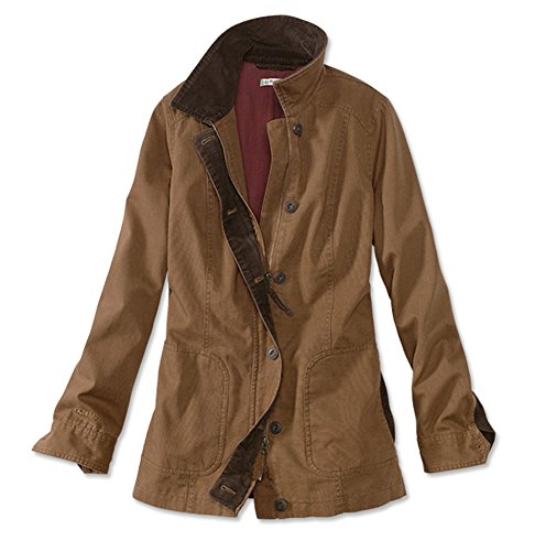 Orvis Women's Classic Barn Jacket, Tobacco, (Womens Barn Jacket)