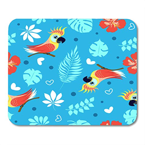 Semtomn Gaming Mouse Pad Colorful Cute Cockatoo and for sale  Delivered anywhere in Canada