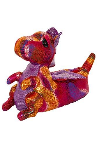 Dannii Matthews , Damen Hausschuhe Pink Dragon