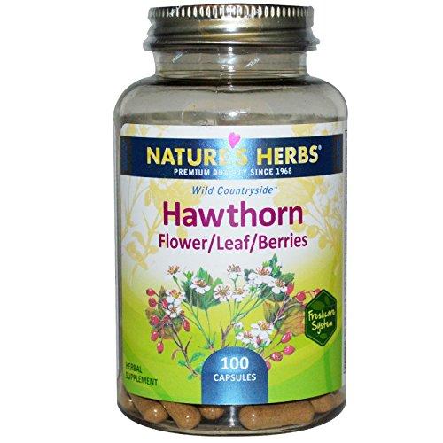 Nature's Herbs, Hawthorn, Flower/Leaf/Berries, 100 Capsules - (Hawthorn 100 Capsules)