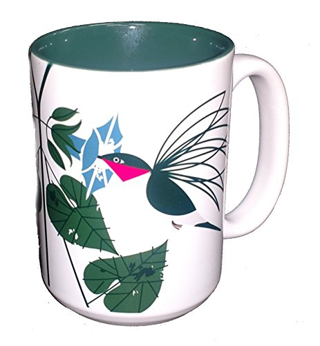 Charley Harper Little Sipper Hummingbird Grande Mug (Boxed Single) ()