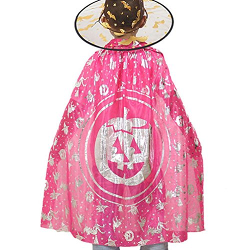 [Halloween Cloak Cape !Elevin(TM) 2016 Halloween Children Kids Teens Pumpkin Cloak Masquerade Cos Props Small Devil Horns Gowns] (Babushka Doll Costume)