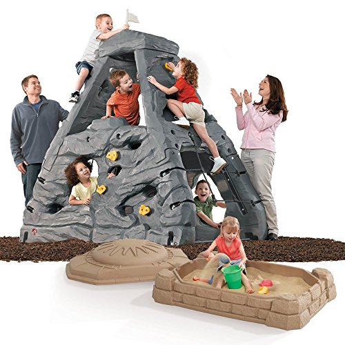 Step2 Skyward Summit Climbing Wall and Sandbox Combo