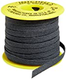Mitchell Abrasives 59-S Flat Abrasive Tape, Silicon Carbide 150 Grit 1/4'' Wide x 25 Feet