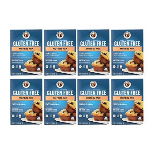 King Arthur Flour Muffin Mix, Gluten Free, 16-Ounce (Pack of 8) by King Arthur Flour