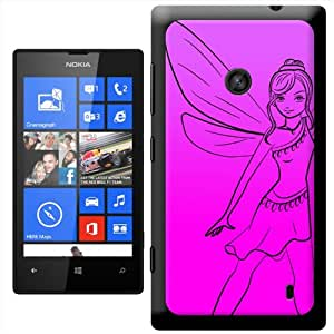 Fancy A Snuggle ' hada con alas' carcasa Rígida para Nokia Lumia 520