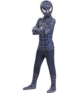 SPIDERMANHTT Disfraz de Cosplay Spiderman Niños adultos ...