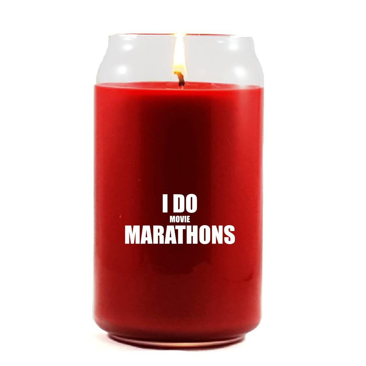 I Do Movie Marathons Binge Watching - Scented Candle