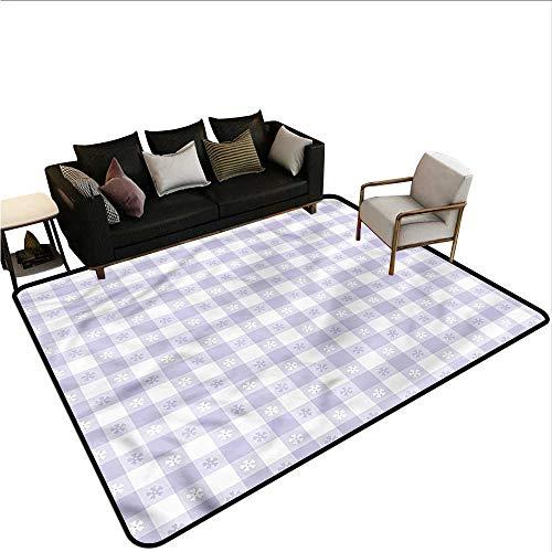 Lavender,Bathroom Rug Kitchen Carpet 48