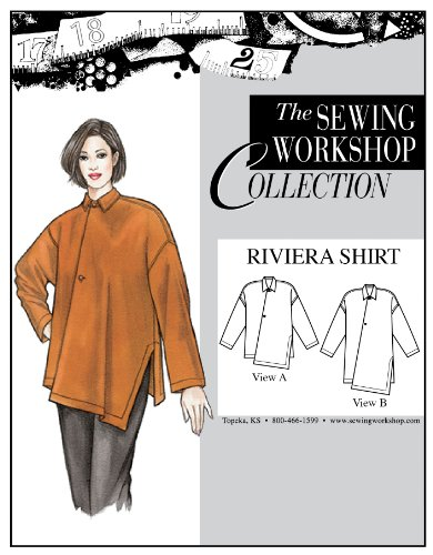 The Sewing Workshop Riviera Shirt Sewing Template, Multi-Size (Sewing Workshop)