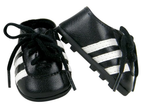 Make Varsity Soccer (18 Inch Doll Shoes | Doll Soccer Cleats by Sophia's)