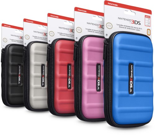Nintendo 3DS XL505 Case - Red by Game Traveler