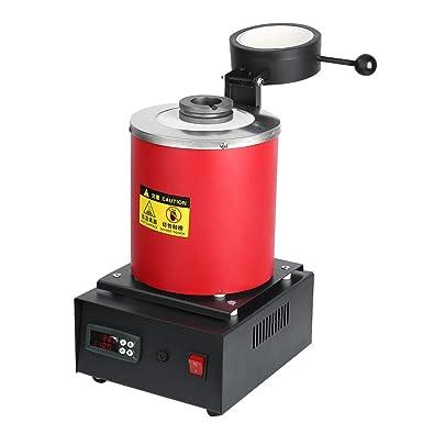 1 kg/2 kg horno de fusión eléctrica fundición automática digital ...