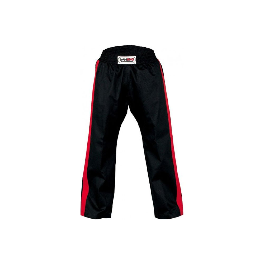 DANRHO Kampfsport Hose Freestyle, Schwarz/Rot Danrho 190 cm 339152190