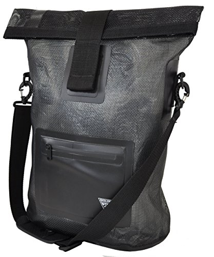 Built U.S.A. Seattle Sports Mesh Tote, Black