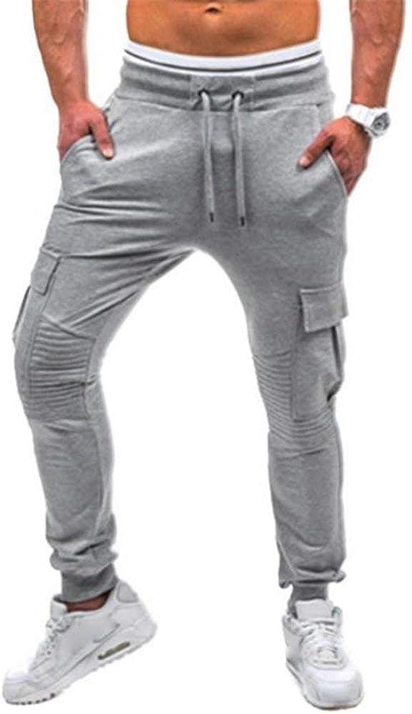 Saoye Fashion Pantalones De Chándal De Los Hombres Ocasionales De ...