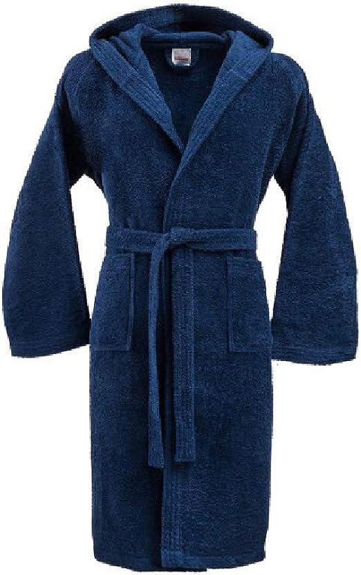 Bassetti - Albornoz con capucha para hombre/mujer, disponible en varias tallas y colores, 100% algodón: Amazon.es: Ropa y accesorios