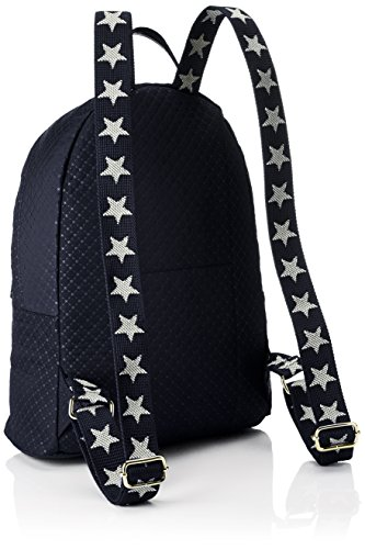 Tommy Hilfiger - Poppy Backpack Quilted Argyle, Bolsos mochila Mujer, Bleu (Quilted Navy), 13x40x30 cm (W x H L)