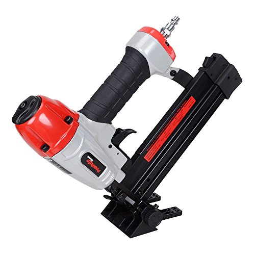 Nailer Angle Brad (PowRyte 18 Gauge 4-in-1 Engineered Hardwood Flooring Nailer & Stapler)