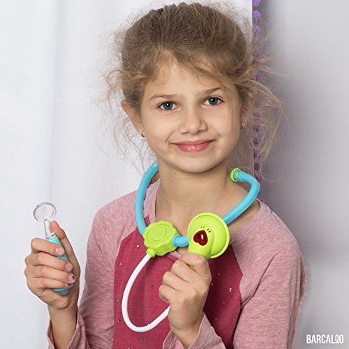Review Doctor Kit for Kids – Pretend Doctor Play Set for Girls and Boys