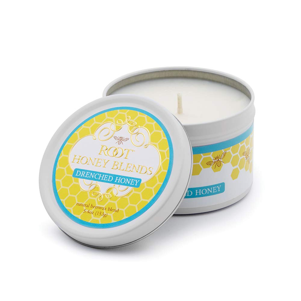 Root Candles Honey Blends Travel Candle, Drenched