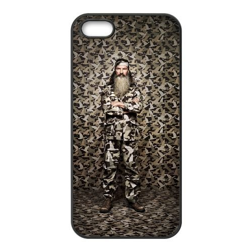 Happy Happy Happy Camouflage Duck Dynasty 003 coque iPhone 5 5S cellulaire cas coque de téléphone cas téléphone cellulaire noir couvercle EOKXLLNCD24214