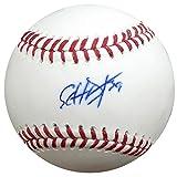 #4: Edwin Diaz Autographed Official MLB Baseball Seattle Mariners MCS Holo #37563