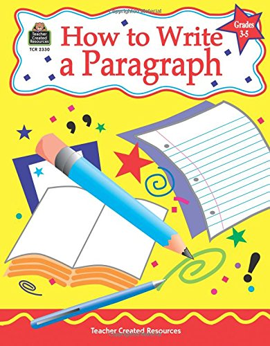 who to write a paragraph
